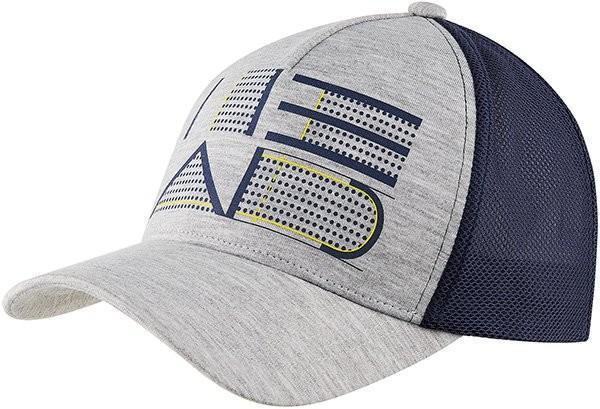 Теннисная кепка Head Trucker Cap grey/navy
