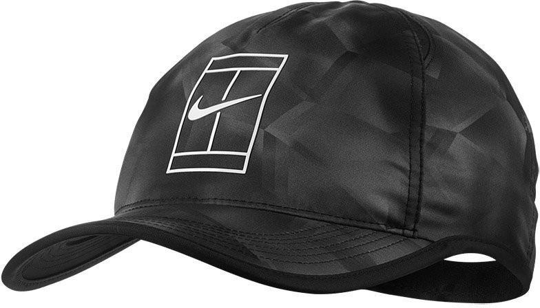 Теннисная кепка Nike Court Aerobill GS Cap black/black/white