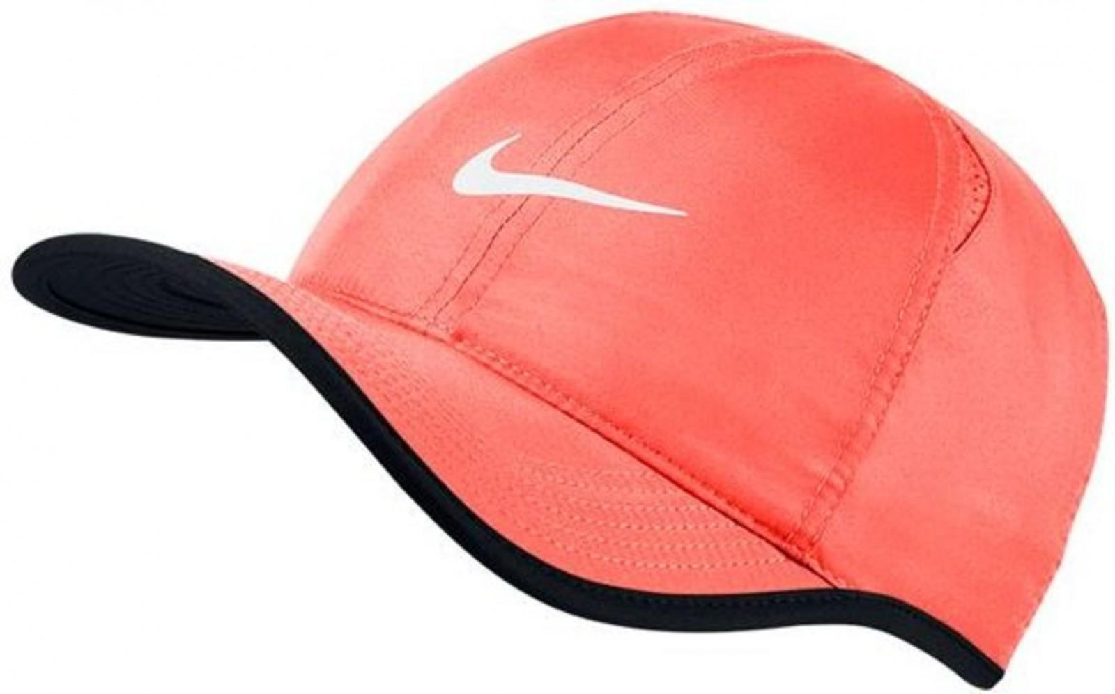 Теннисная кепка Nike Feather Light Cap bright mango