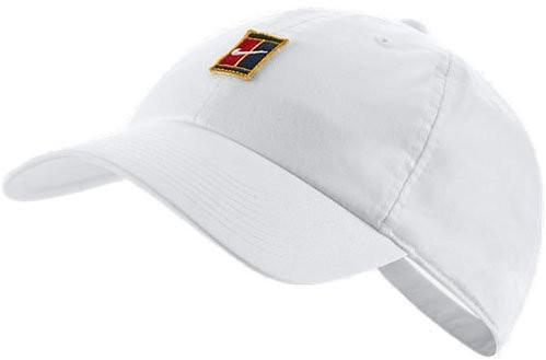 Теннисная кепка Nike H86 Court Logo Cap white