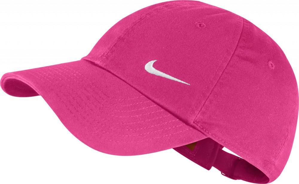 Теннисная кепка Nike Heritage Swoosh Cap vivid pink/white