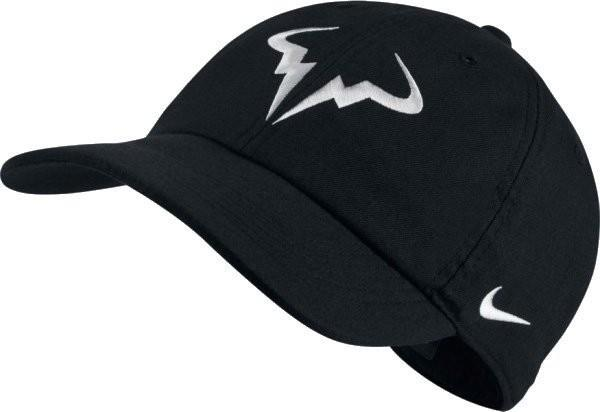 Теннисная кепка Nike Rafa U Aerobill H86 Cap black/white