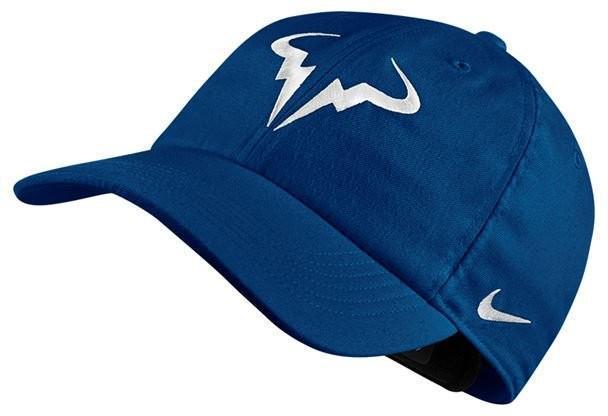 Теннисная кепка Nike Rafa U Aerobill H86 Cap blue jay/white