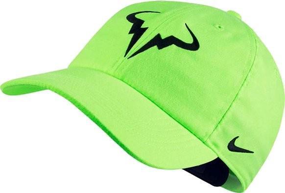 Теннисная кепка Nike Rafa U Aerobill H86 Cap ghost green/black