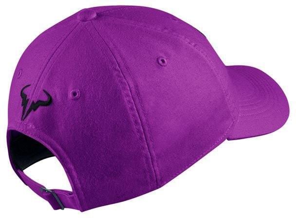 Теннисная кепка Nike Rafa U Aerobill H86 Cap vivid purple/black
