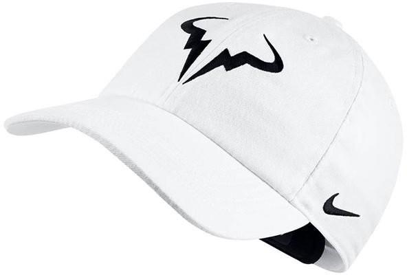 Теннисная кепка Nike Rafa U Aerobill H86 Cap white/black