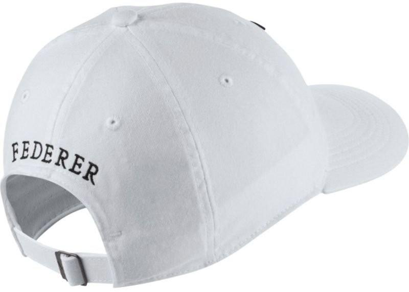 Теннисная кепка Nike RF U Aerobill H86 Cap white/black