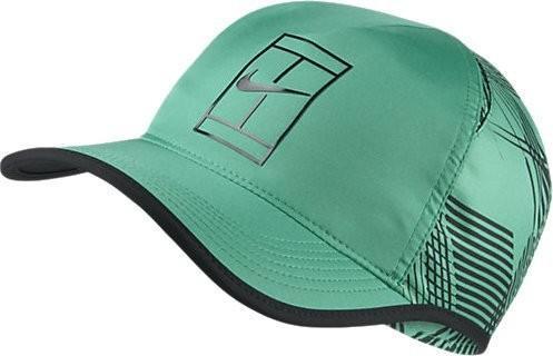 Теннисная кепка Nike U Aerobill Cap GS OZ stadium green/black/black