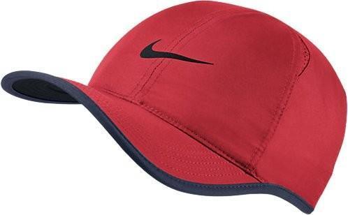 Теннисная кепка Nike U Aerobill Feather Light Cap action red