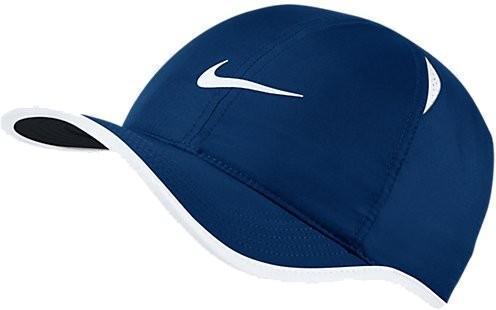 Теннисная кепка Nike U Aerobill Feather Light Cap blue moon