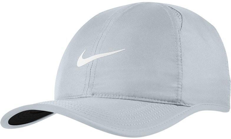 Теннисная кепка Nike U Aerobill Feather Light Cap pure platinum