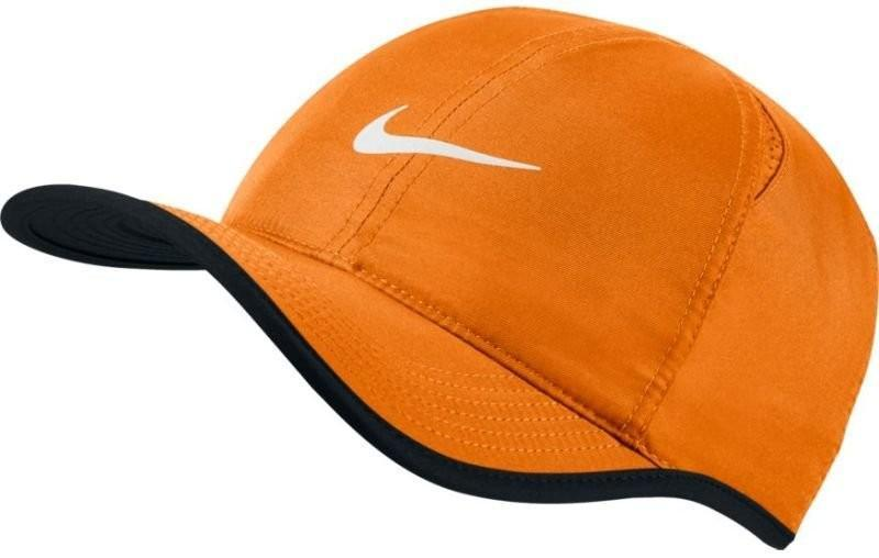 Теннисная кепка Nike U Aerobill Feather Light Cap tart/black/black/white