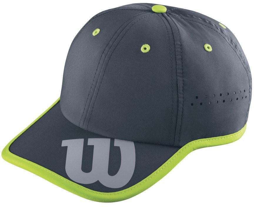 Теннисная кепка Wilson Baseball Hat coal/granny green