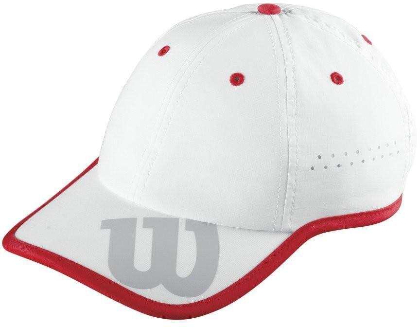 Теннисная кепка Wilson Baseball Hat white/wilson red