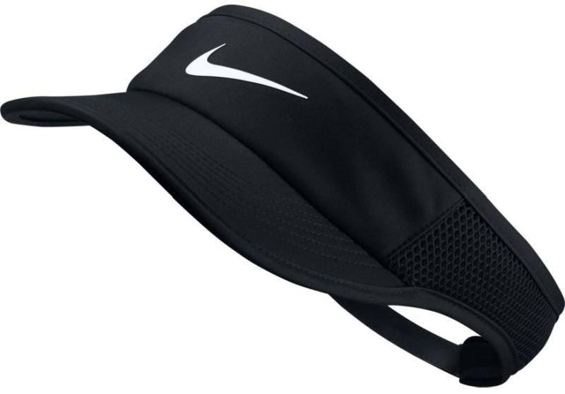 Козырек Nike Aerobill Feather Light Visor black/black/black/white