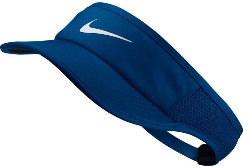 Козырек Nike Aerobill Feather Light Visor blue jay/black/white