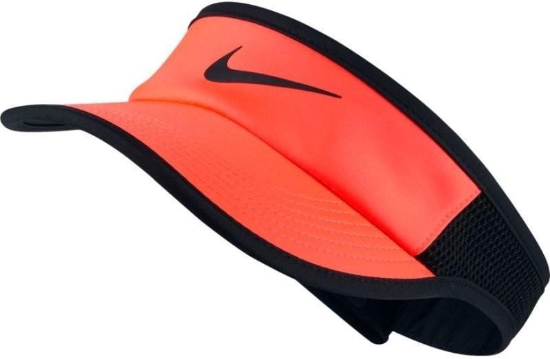 Козырек Nike Aerobill Feather Light Visor hyper orange/black