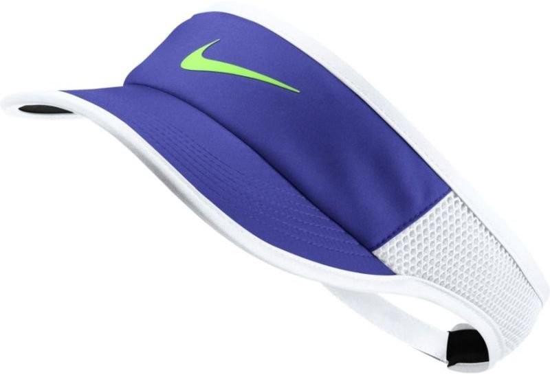 Козырек Nike Aerobill Feather Light Visor paramount blue/white/black/ghost green