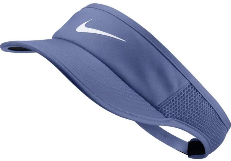Козырек Nike Aerobill Feather Light Visor purple slate