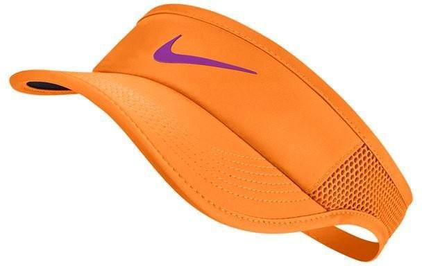 Козырек Nike Aerobill Feather Light Visor tart/black/vivid purple