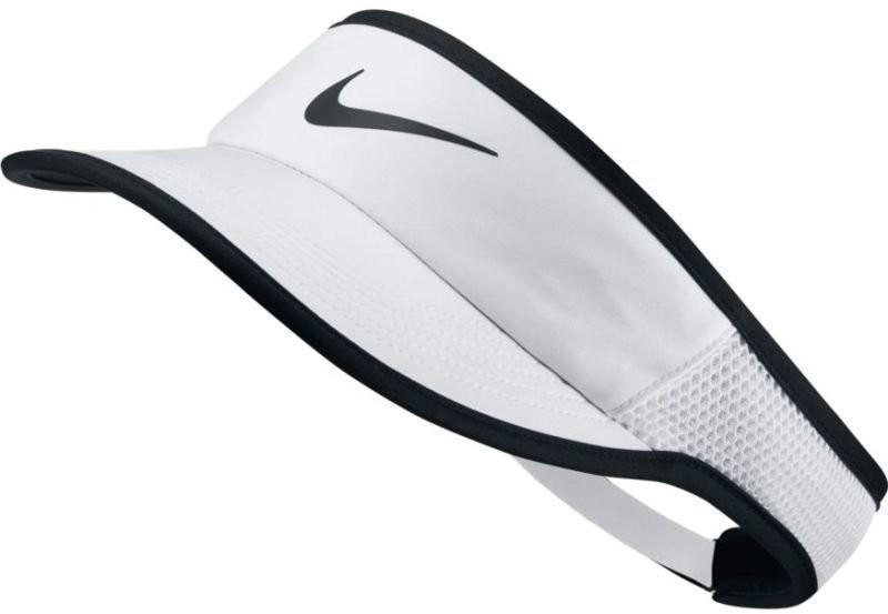 Козырек Nike Aerobill Feather Light Visor white/black