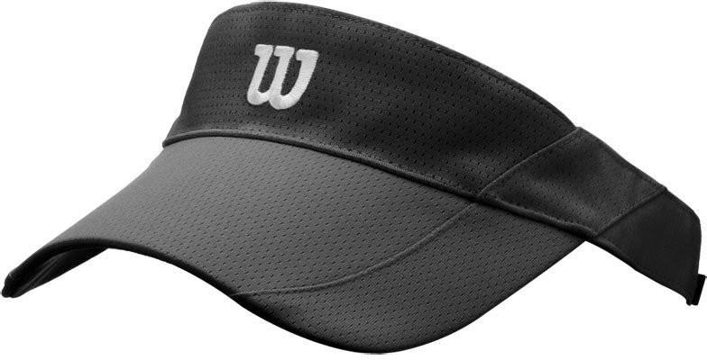 Козырек Wilson Rush Knit Visor Ultralight black/white