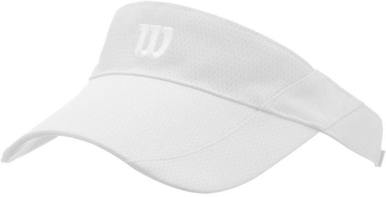 Козырек Wilson Rush Knit Visor Ultralight white/silver