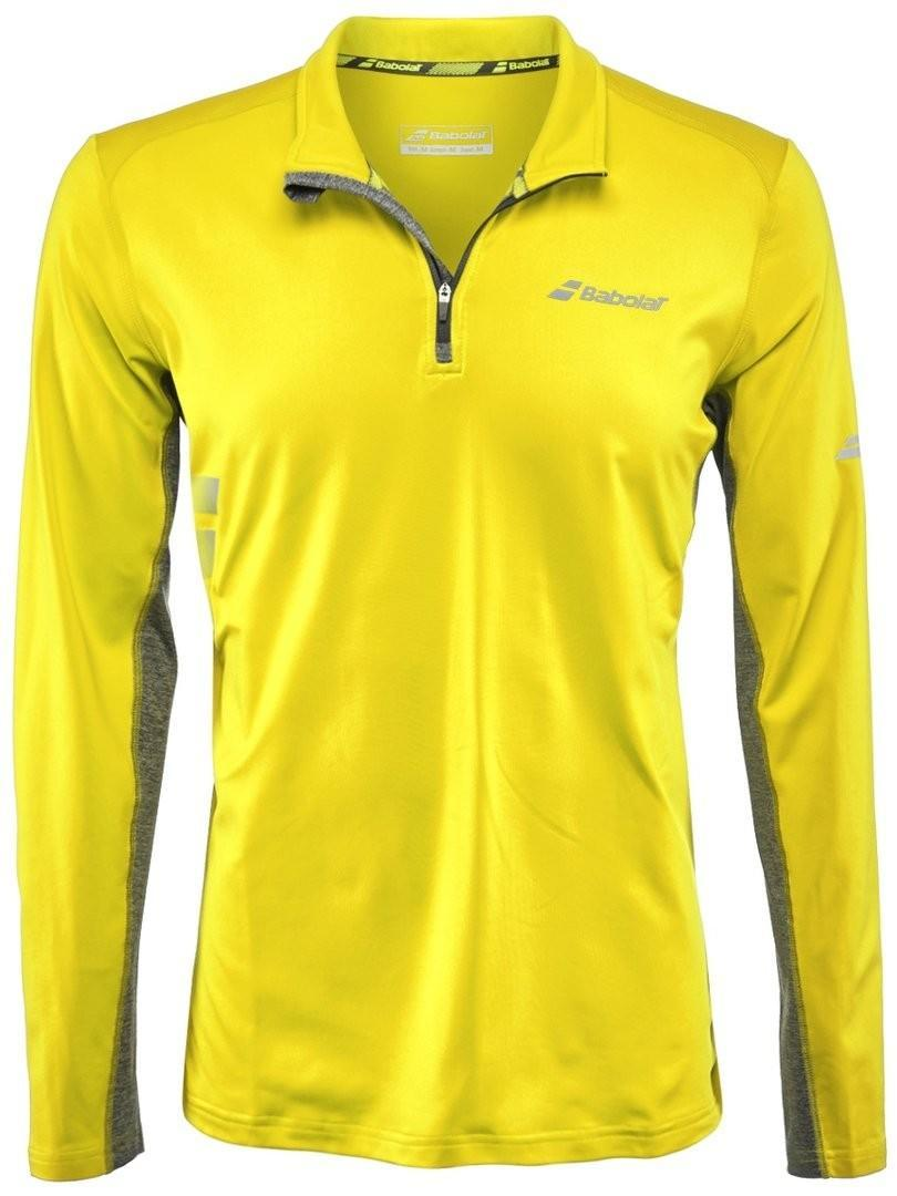 Кофта мужская Babolat 1/2 Zip Core Men aero yellow