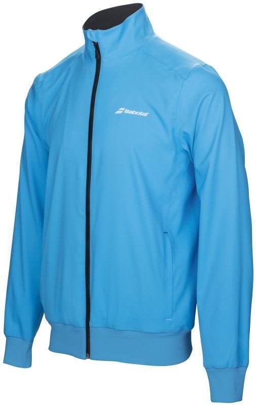 Кофта мужская Babolat Core Club Jacket Men drive blue