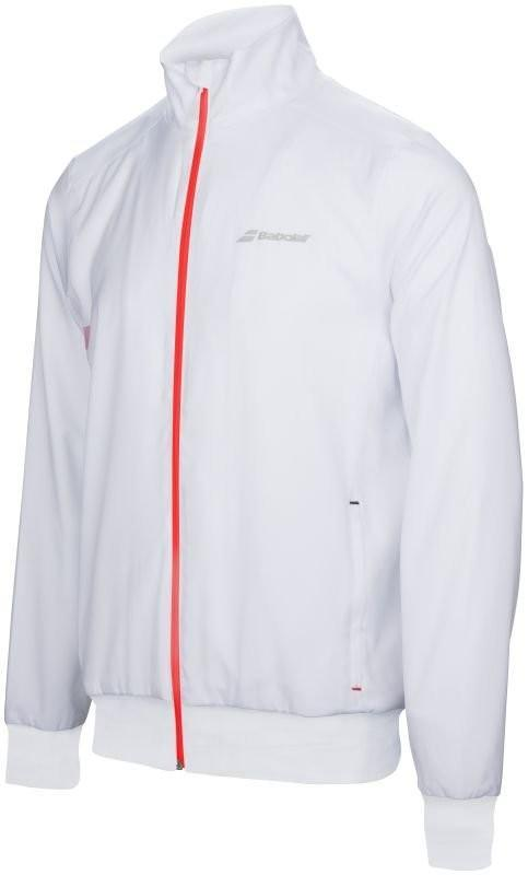 Кофта мужская Babolat Core Club Jacket Men white