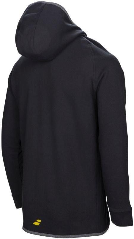 Кофта мужская Babolat Core Hood Sweat Men black