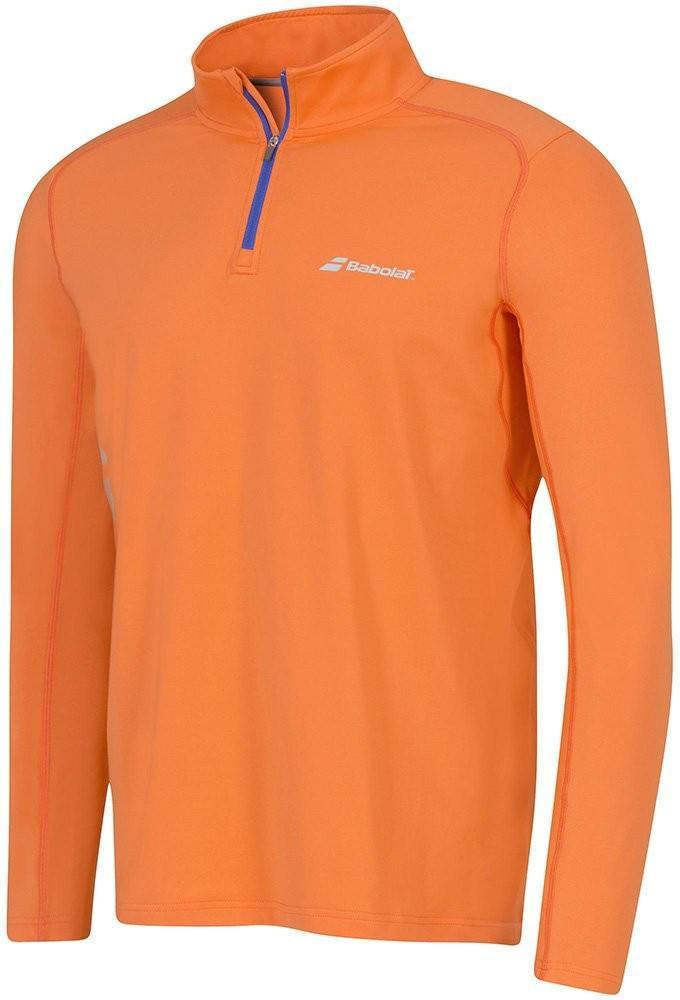 Тенниска мужская Babolat 1/2 Zip Core Men flame