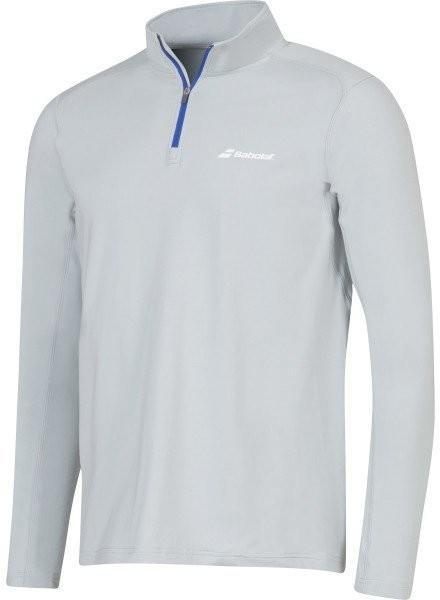 Тенниска мужская Babolat 1/2 Zip Core Men grey