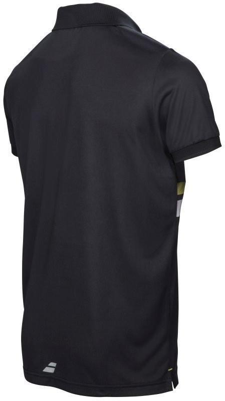 Теннисная футболка мужская Babolat Core Club Polo Men black поло