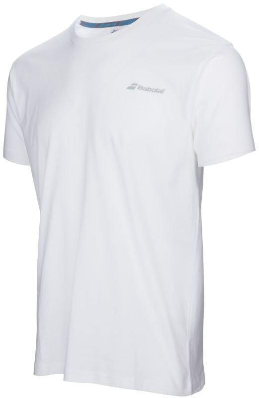 Теннисная футболка мужская Babolat Core Tee Men white