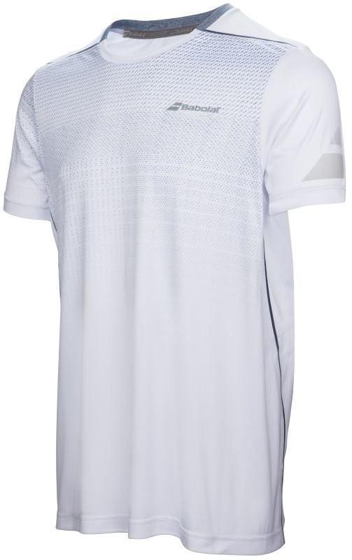 Теннисная футболка мужская Babolat Performance Crew Neck Tee Men white