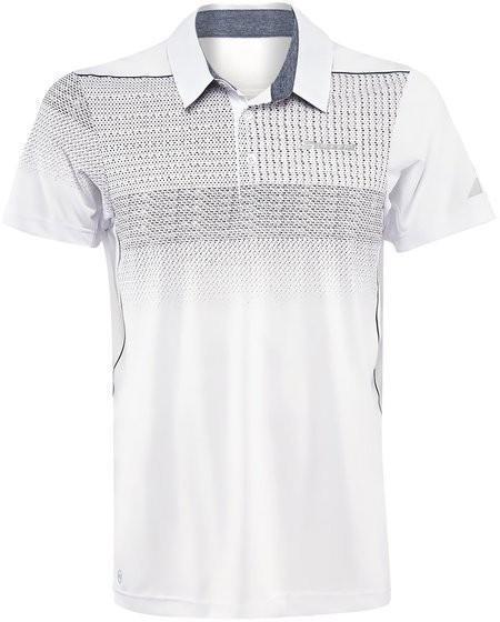 Теннисная футболка мужская Babolat Polo Performance Men white/grey/silver поло