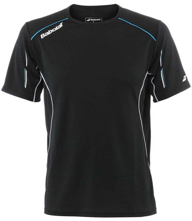 Теннисная футболка мужская Babolat T-Shirt Match Core Men black