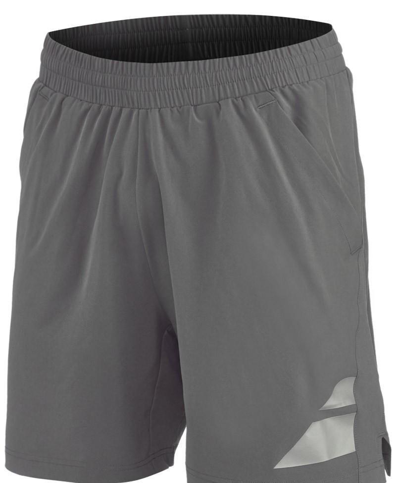 Теннисные шорты мужские  Babolat Performance Short Men steel grey