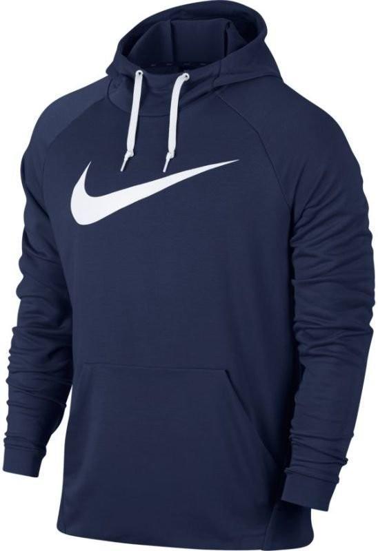 Реглан мужской Nike Dry Swoosh Hoodie binary blue/white