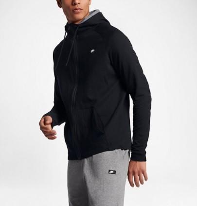 Реглан мужской Nike Men's Modern Full Zip Hoodie Black