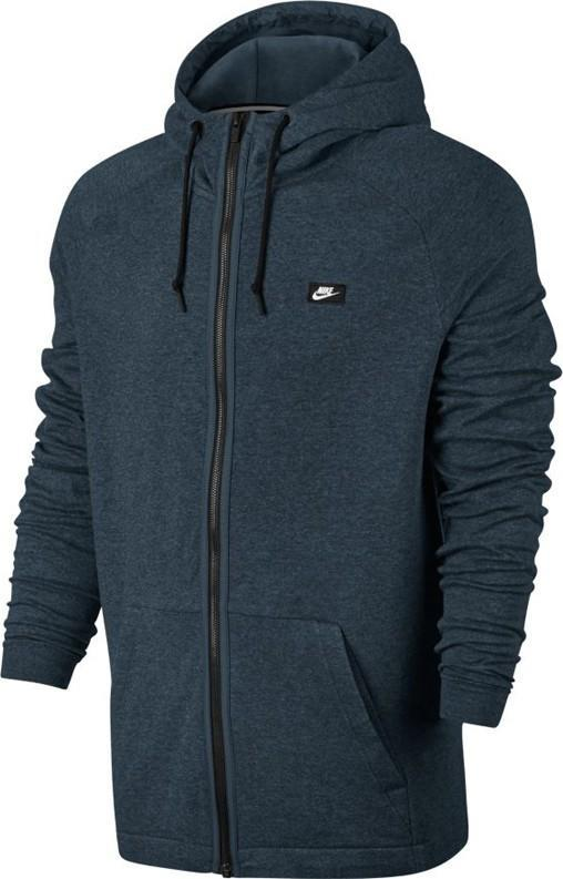 Реглан мужской Nike Men's Modern Full Zip Hoodie Thunder Blue Heather
