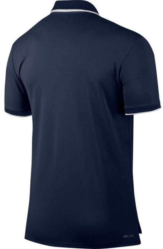 Теннисная футболка мужская Nike Court Dry Polo Team midnight navy поло