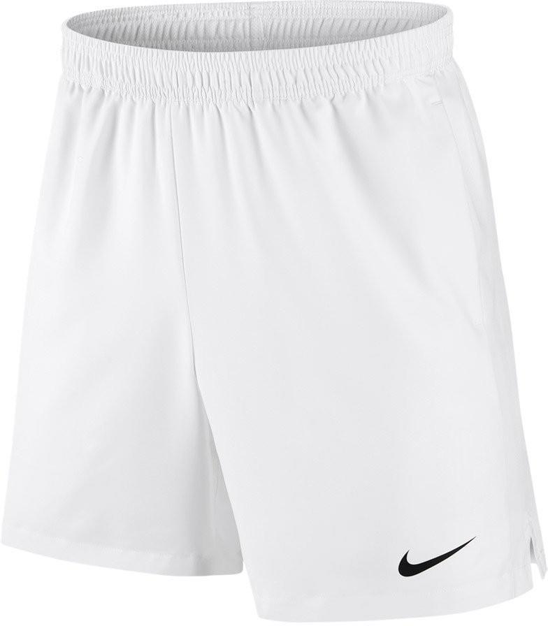 Теннисные шорты мужские Nike Court Dry Short 7 white/white/black