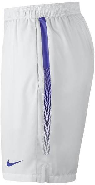 Теннисные шорты мужские Nike Court Dry Short 9 white/paramount blue/paramount blue