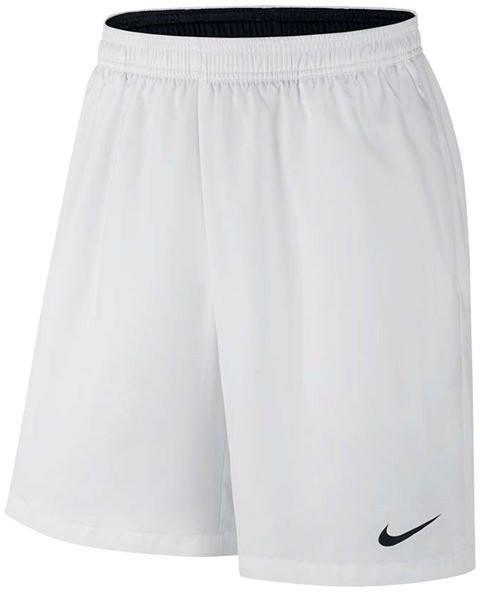 Теннисные шорты мужские Nike Court Dry Short 9 white/black/black