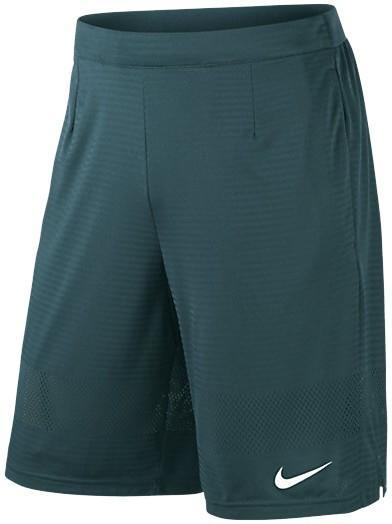 Теннисные шорты мужские Nike Gladiator Breathe 11 Short teal/white