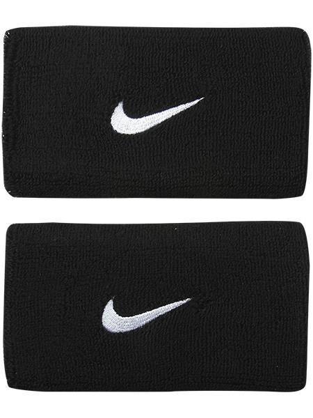 Напульсник Nike Swoosh Double-Wide black/white