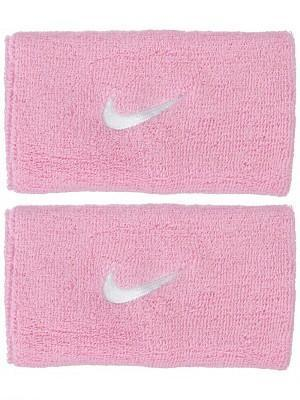 Напульсник Nike Swoosh Double-Wide perfect pink/white