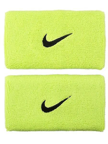 Напульсник Nike Swoosh Double-Wide s atomic green/black